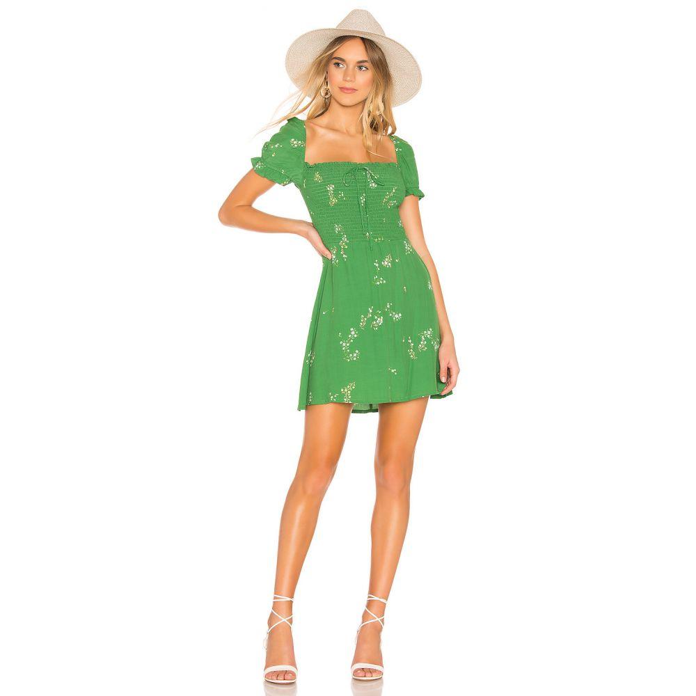 フェイスフルザブランド FAITHFULL THE BRAND レディース ワンピース・ドレス ワンピース【Genevieve Dress】Myrtille Floral