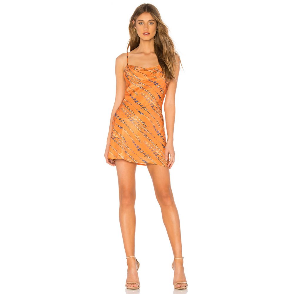 ハウスオブハーロウ1960 House of Harlow 1960 レディース ワンピース・ドレス ワンピース【x REVOLVE Ira Mini Dress】Tie Dye Multi