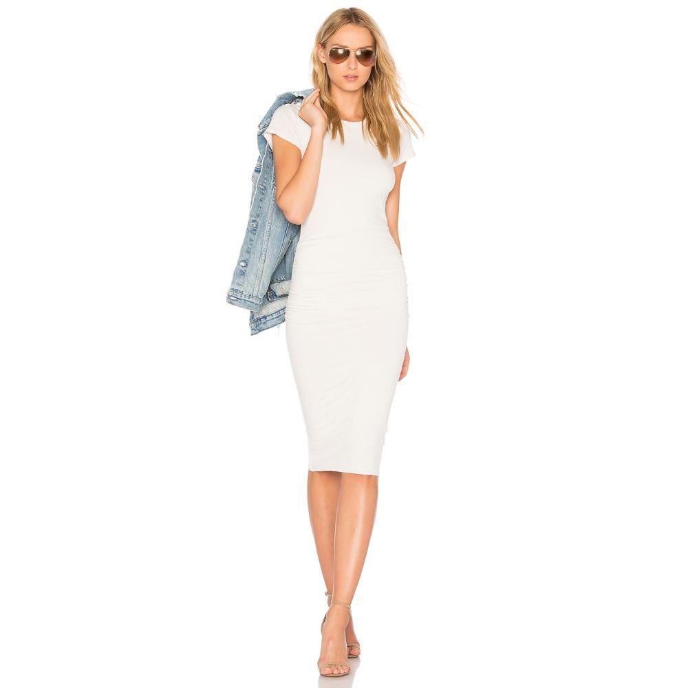 ジェームス パース James Perse レディース ワンピース・ドレス ワンピース【Classic Skinny Dress】Talc