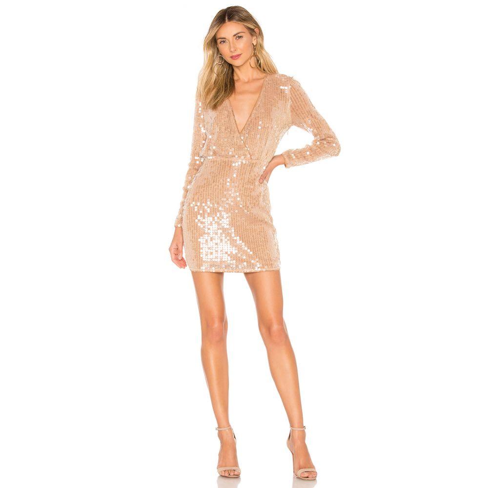 マジョレル MAJORELLE レディース ワンピース・ドレス ワンピース【Claudina Mini Dress】Blush Nude