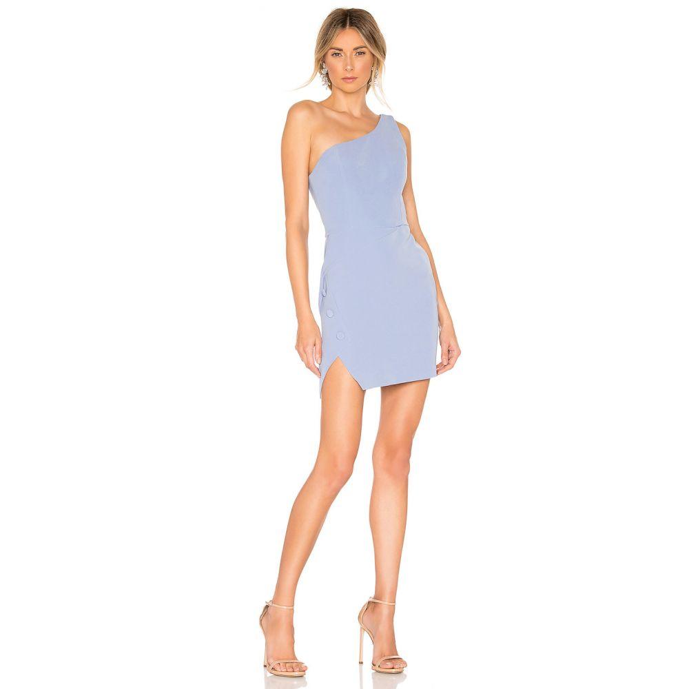 エヌビーディー NBD レディース ワンピース・ドレス ワンピース【Aldon Mini Dress】Soft Blue