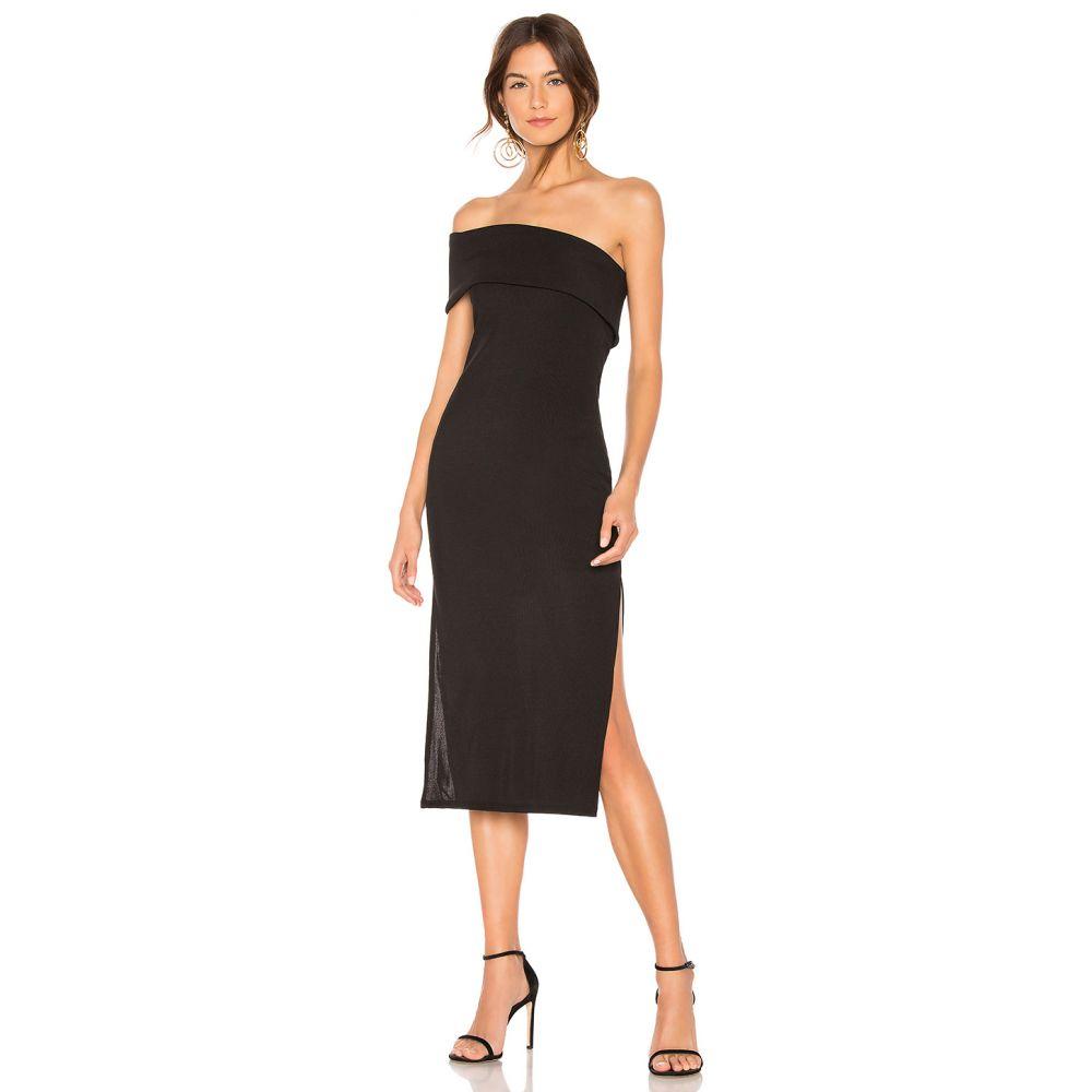 プライバシー プリーズ Privacy Please レディース ワンピース・ドレス ワンピース【Gianna Midi Dress】Black
