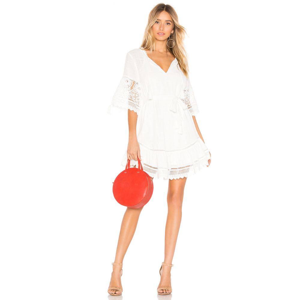 スペル アンド ジプシーコレクティブ Spell & The Gypsy Collective レディース ワンピース・ドレス ワンピース【Abigail Lace Mini Dress】White