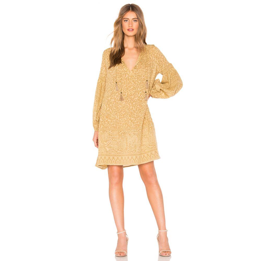 スペル アンド ジプシーコレクティブ Spell & The Gypsy Collective レディース ワンピース・ドレス ワンピース【Wild Thing Tunic Dress】Mustard