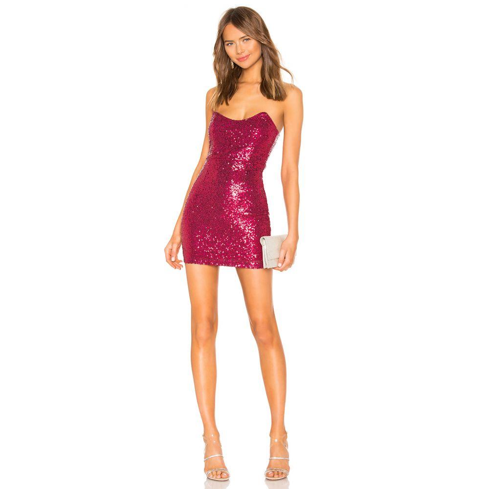 スーパーダウン superdown レディース ワンピース・ドレス ワンピース【Stevie Sweetheart Mini Dress】Pink Sequin