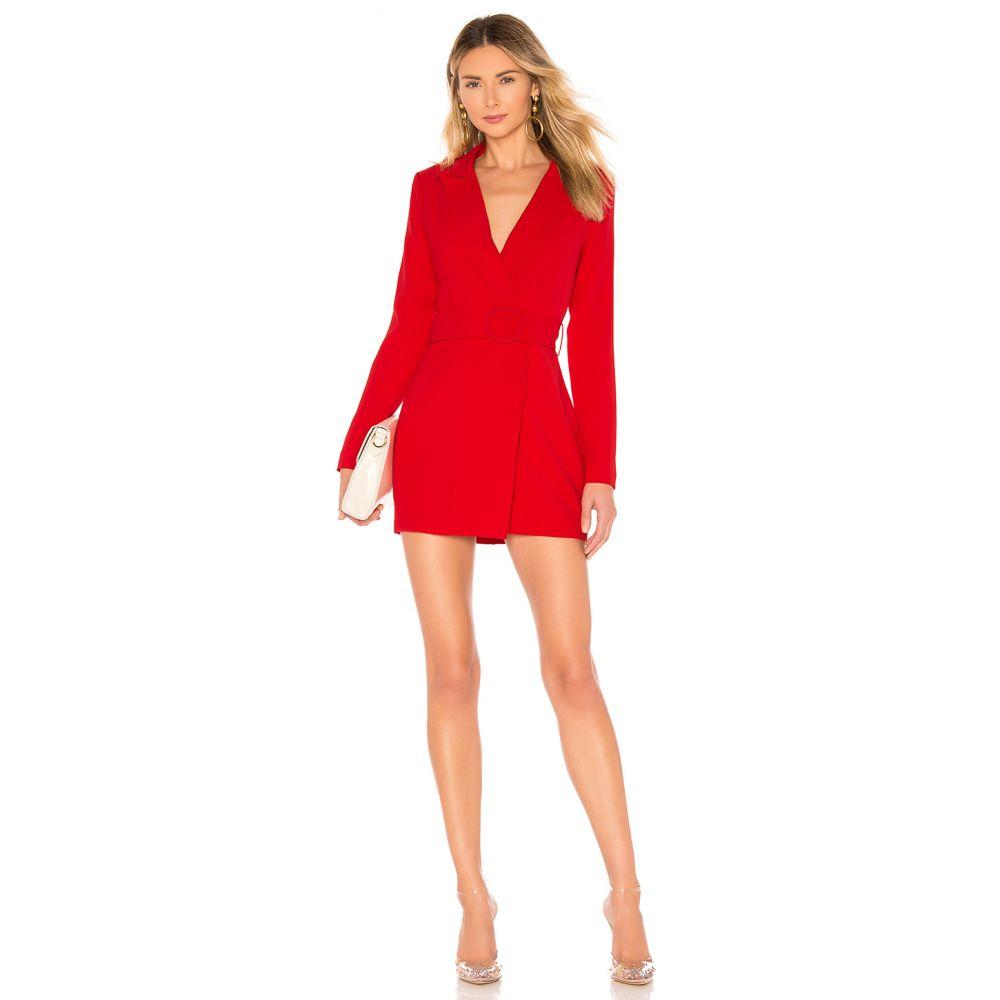 スーパーダウン superdown レディース ワンピース・ドレス ワンピース【Joan Belted Blazer Dress】Red