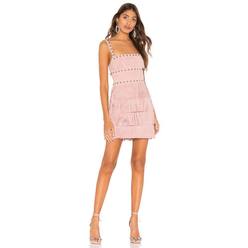 エックス by NBD X by NBD レディース ワンピース・ドレス ワンピース【Dusty Suede Mini Dress】Light Pink