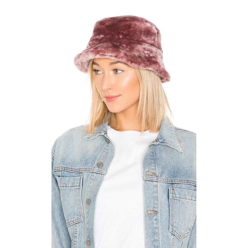 ブリクストン Brixton レディース 帽子 ハット【Hardy Faux Fur Bucket Hat】Violet