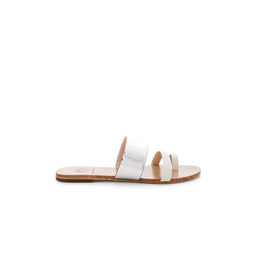 ハウスオブハーロウ1960 House of Harlow 1960 レディース シューズ・靴 サンダル・ミュール【x REVOLVE Dean Slide】White