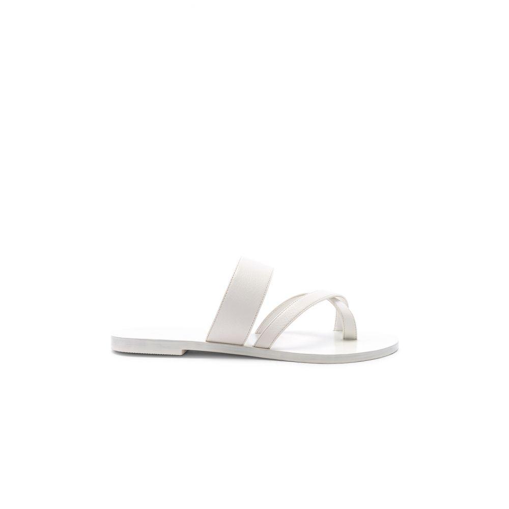 レイエ RAYE レディース シューズ・靴 サンダル・ミュール【Crescent Sandal】White