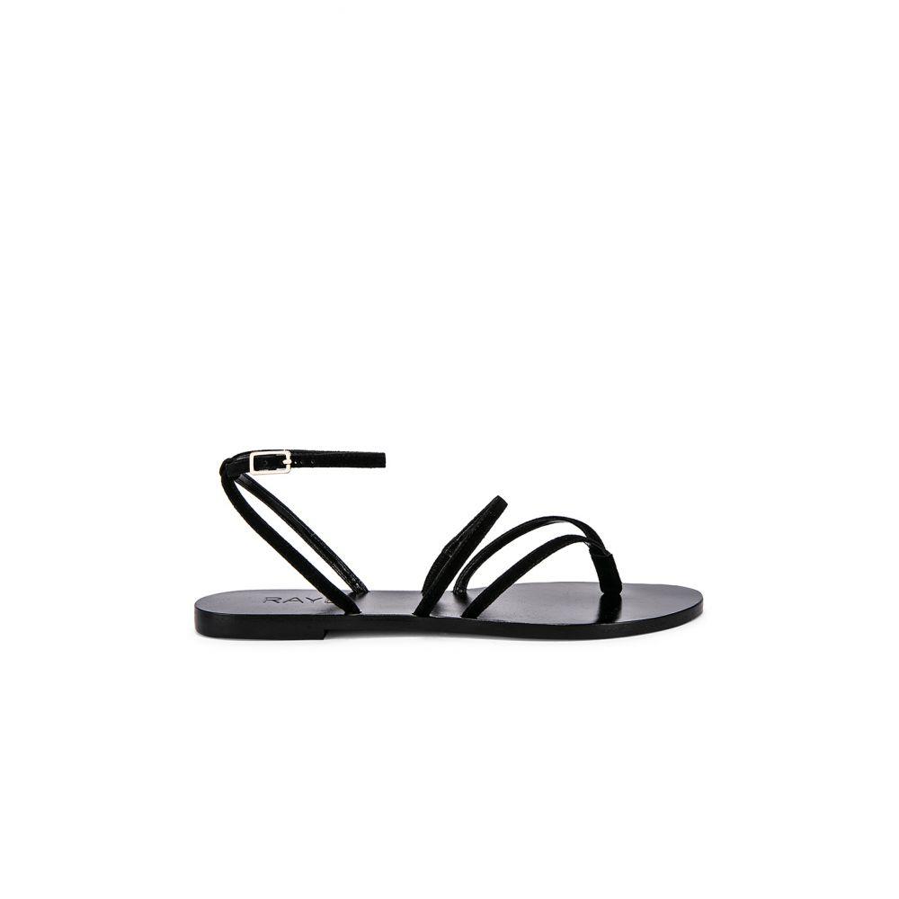 レイエ RAYE レディース シューズ・靴 サンダル・ミュール【Void Sandal】Black