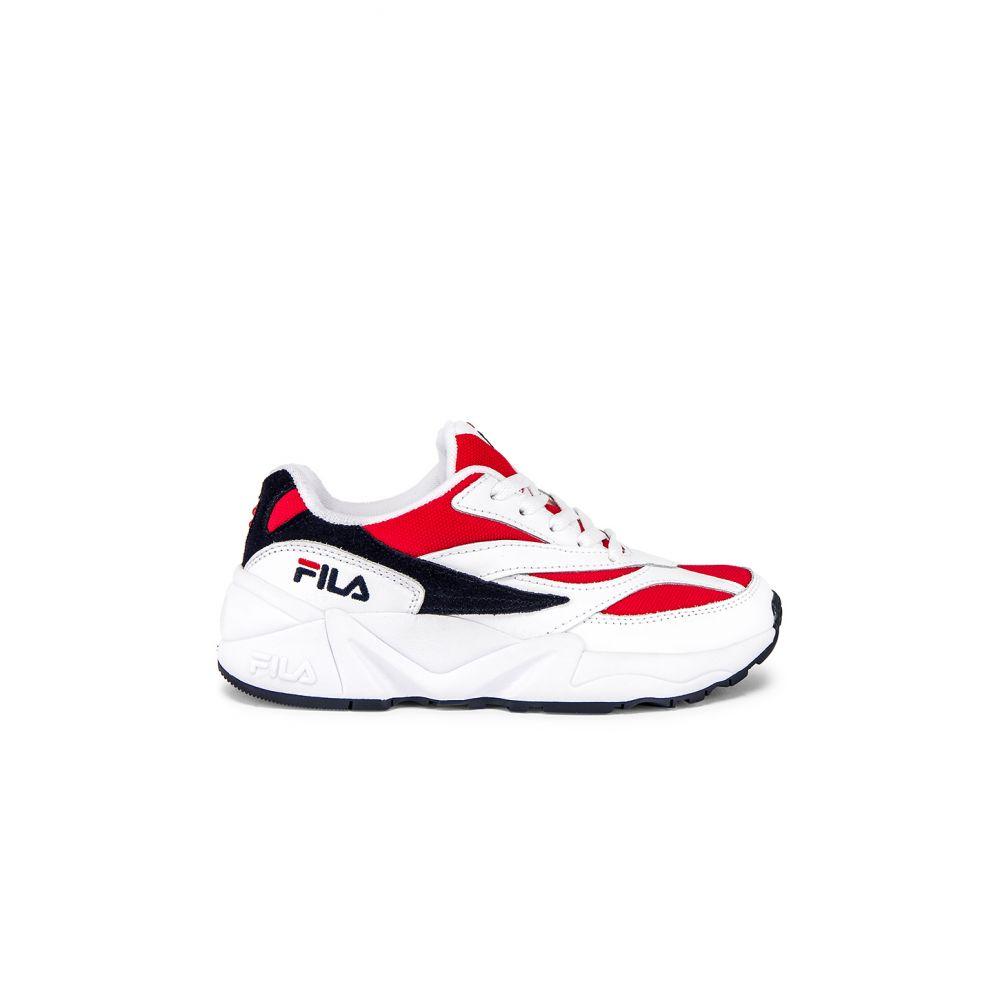 フィラ Fila レディース シューズ・靴 スニーカー【V94M Sneaker】Red, White & Navy