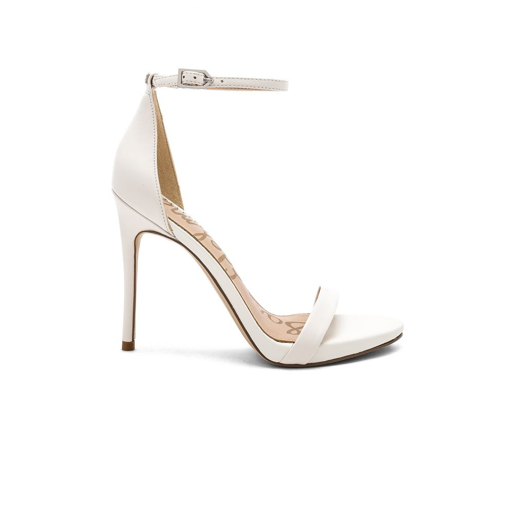サム エデルマン Sam Edelman レディース シューズ・靴 サンダル・ミュール【Ariella Sandal】Bright White Nappa Luva Leather