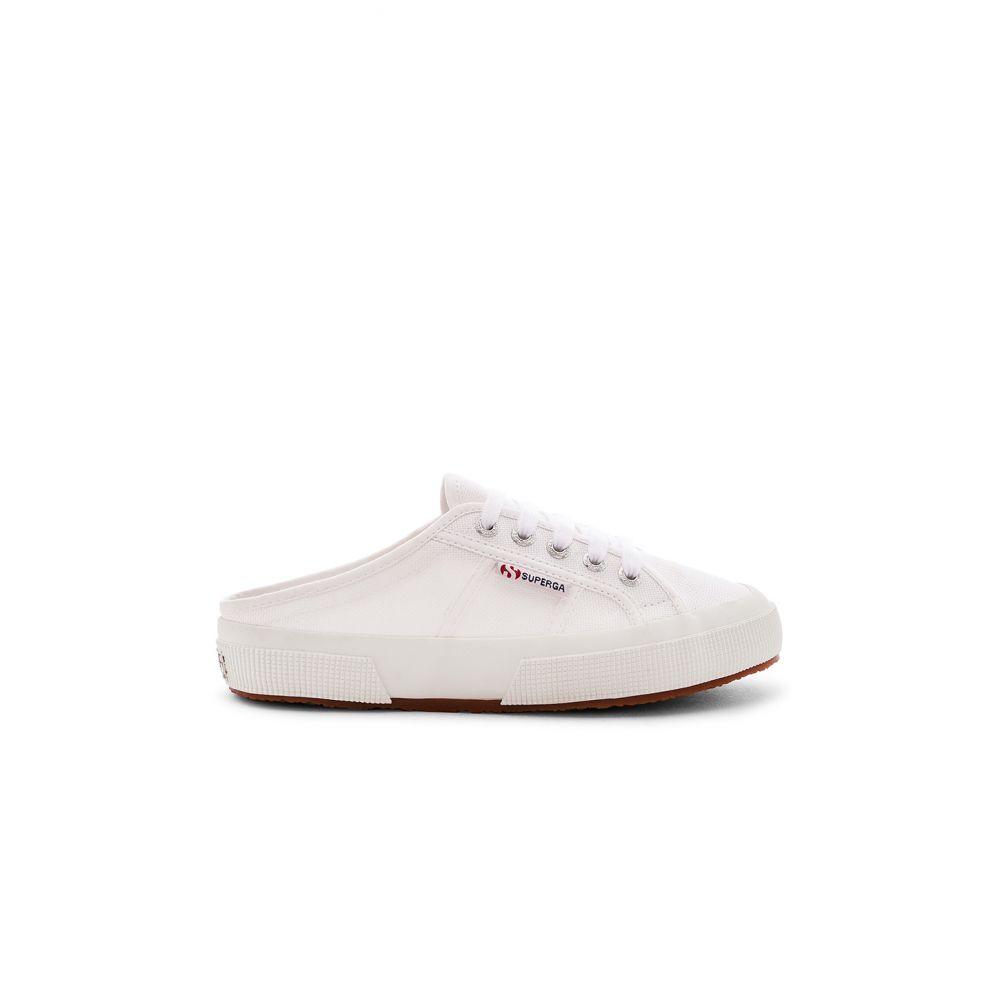 スペルガ Superga レディース シューズ・靴 スリッポン・フラット【Slip On Sneaker】White