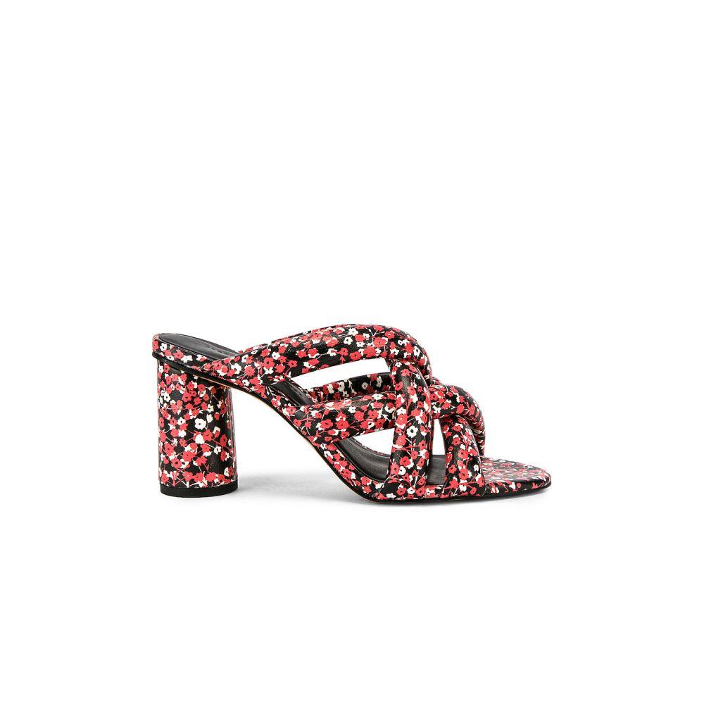 レベッカ ミンコフ Rebecca Minkoff レディース シューズ・靴 ヒール【Amandine Heel】Red Floral Print