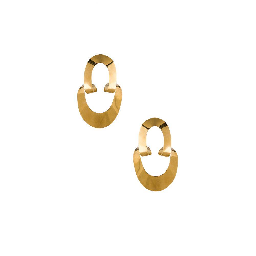 ガビリア Gaviria レディース ジュエリー・アクセサリー イヤリング・ピアス【Large LSD Earrings】Gold