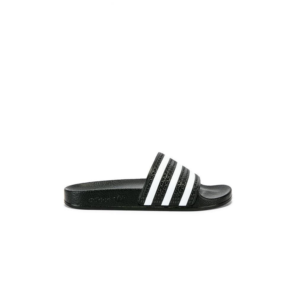 アディダス adidas Originals レディース シューズ・靴 サンダル・ミュール【Adilette Slide】Black