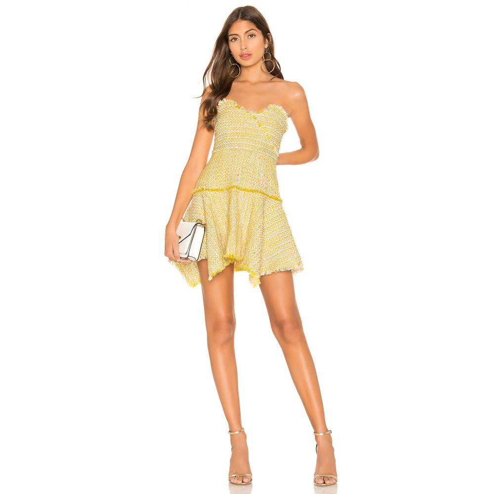 ラヴァーズフレンズ Lovers + Friends レディース ワンピース・ドレス ワンピース【Abby Mini Dress】Sun Yellow