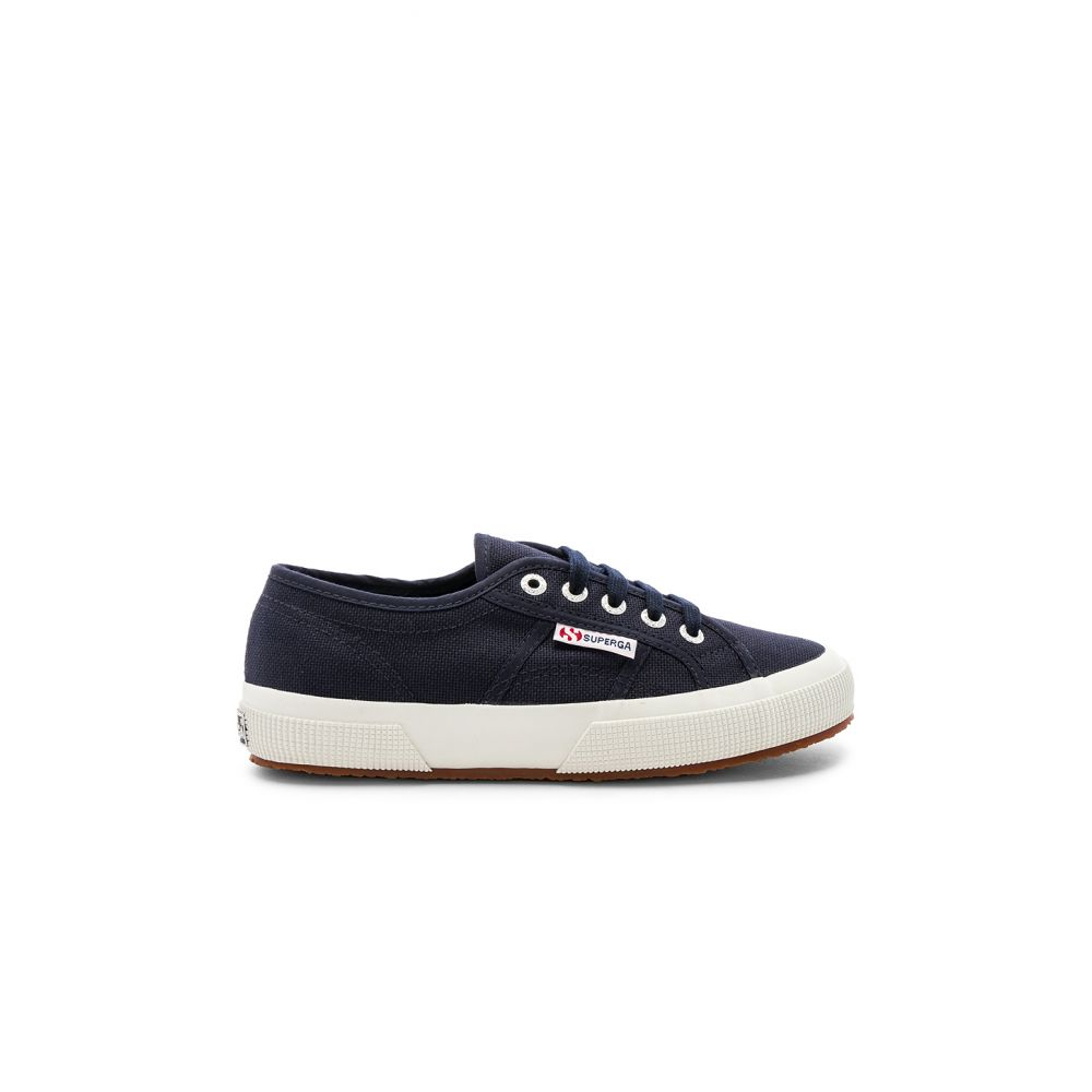スペルガ Superga レディース シューズ・靴 スニーカー【2750 COTW Sneaker】Navy & White