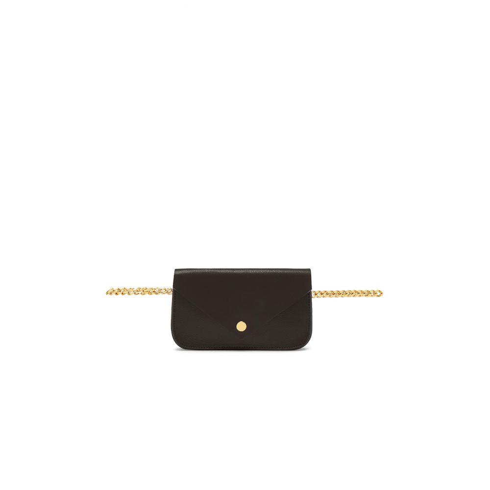 ビーローザベルト B-Low the Belt レディース バッグ ボディバッグ・ウエストポーチ【Gia Chain Belt Bag】Black & Gold