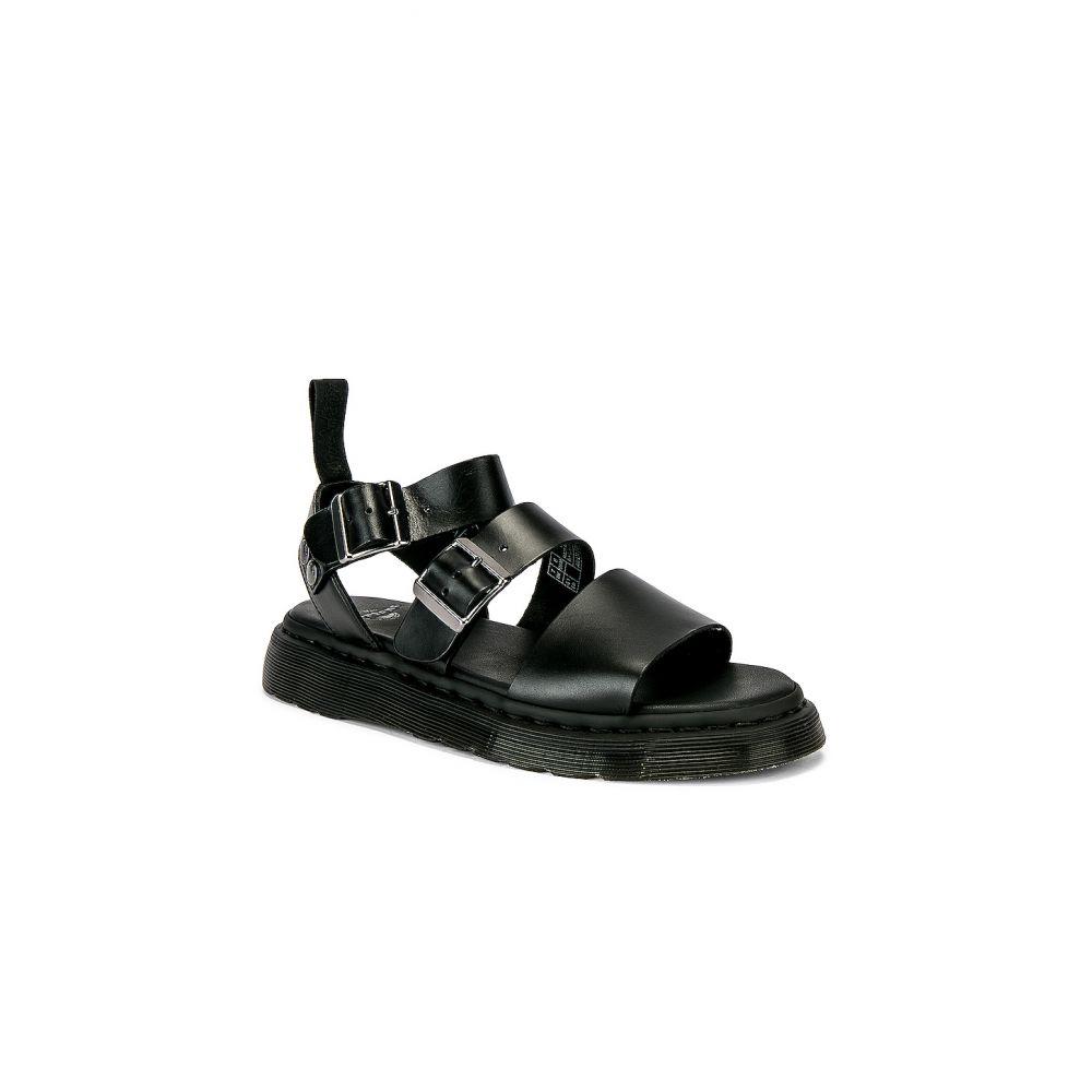 ドクターマーチン Dr. Dr. Sandal】Black Martens メンズ シューズ・靴 サンダル サンダル【Gryphon【Gryphon Sandal】Black, ハクスイムラ:ae7a85e9 --- sunward.msk.ru