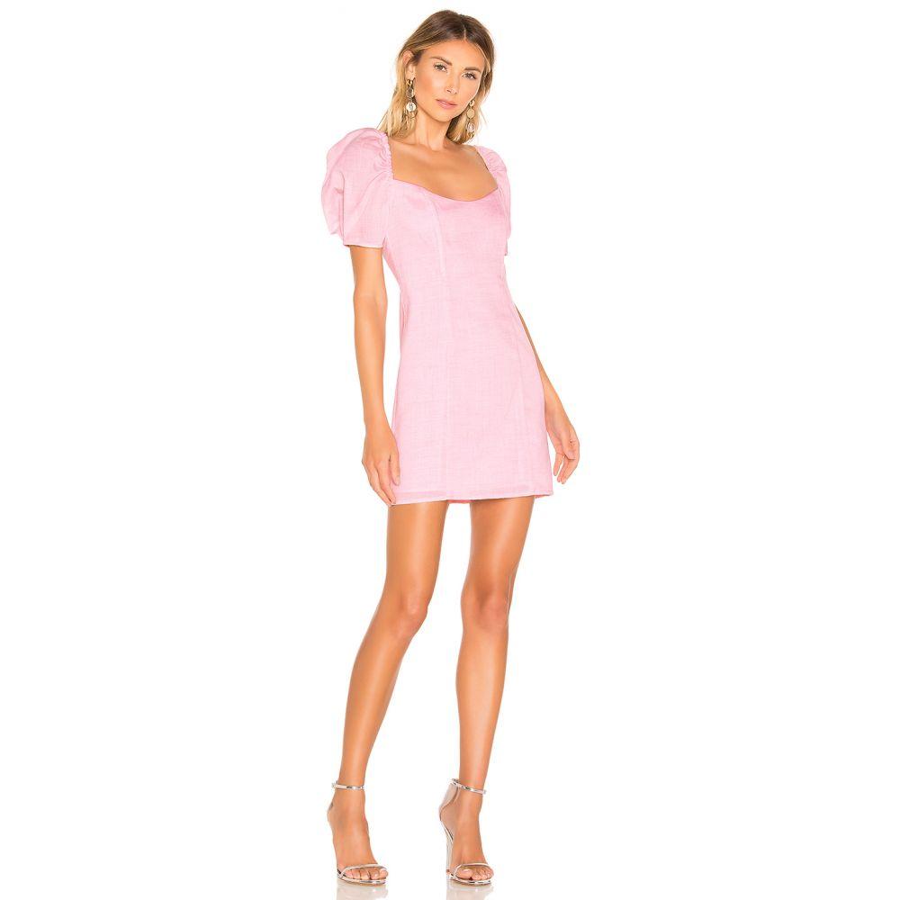 ラヴァーズフレンズ Lovers + Friends レディース ワンピース・ドレス ワンピース【Harper Mini Dress】Light Pink