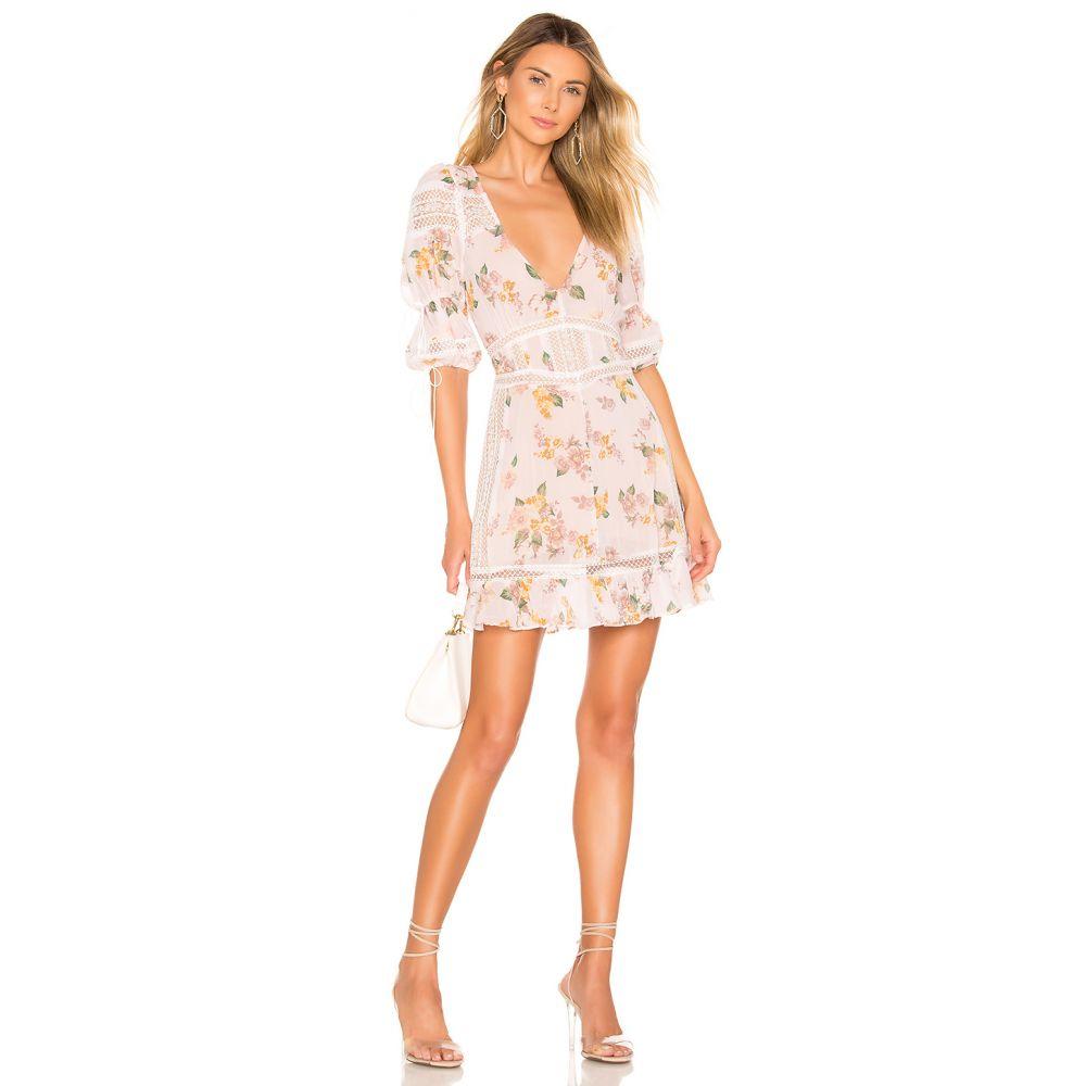 フォーラブアンドレモン For Love & Lemons レディース ワンピース・ドレス ワンピース【Isadora Mini Dress】Blush