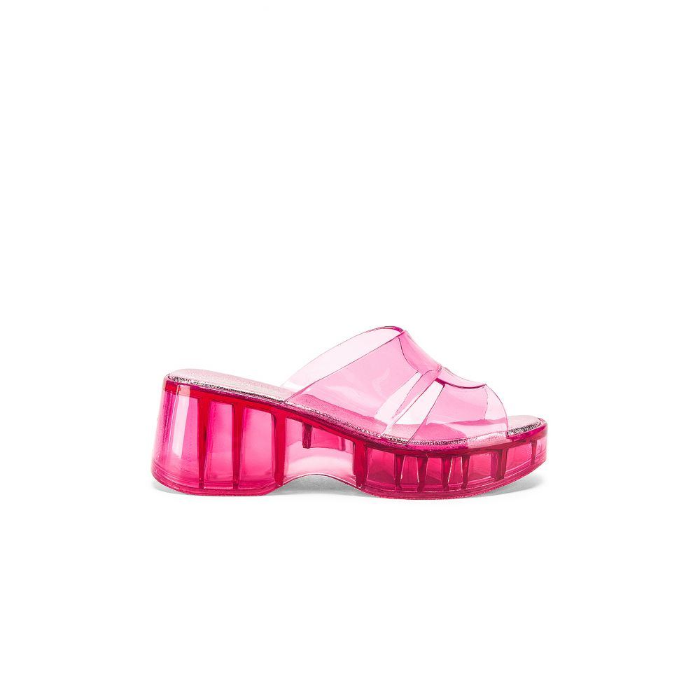 ジェフリー キャンベル Jeffrey Campbell レディース シューズ・靴 サンダル・ミュール【Jelli Mule】Pastel Pink