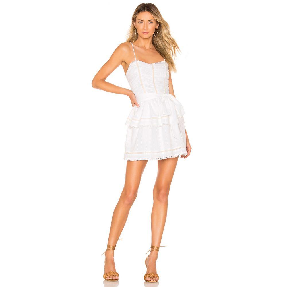 トゥラロサ Tularosa レディース ワンピース・ドレス ワンピース【Josie Dress】White