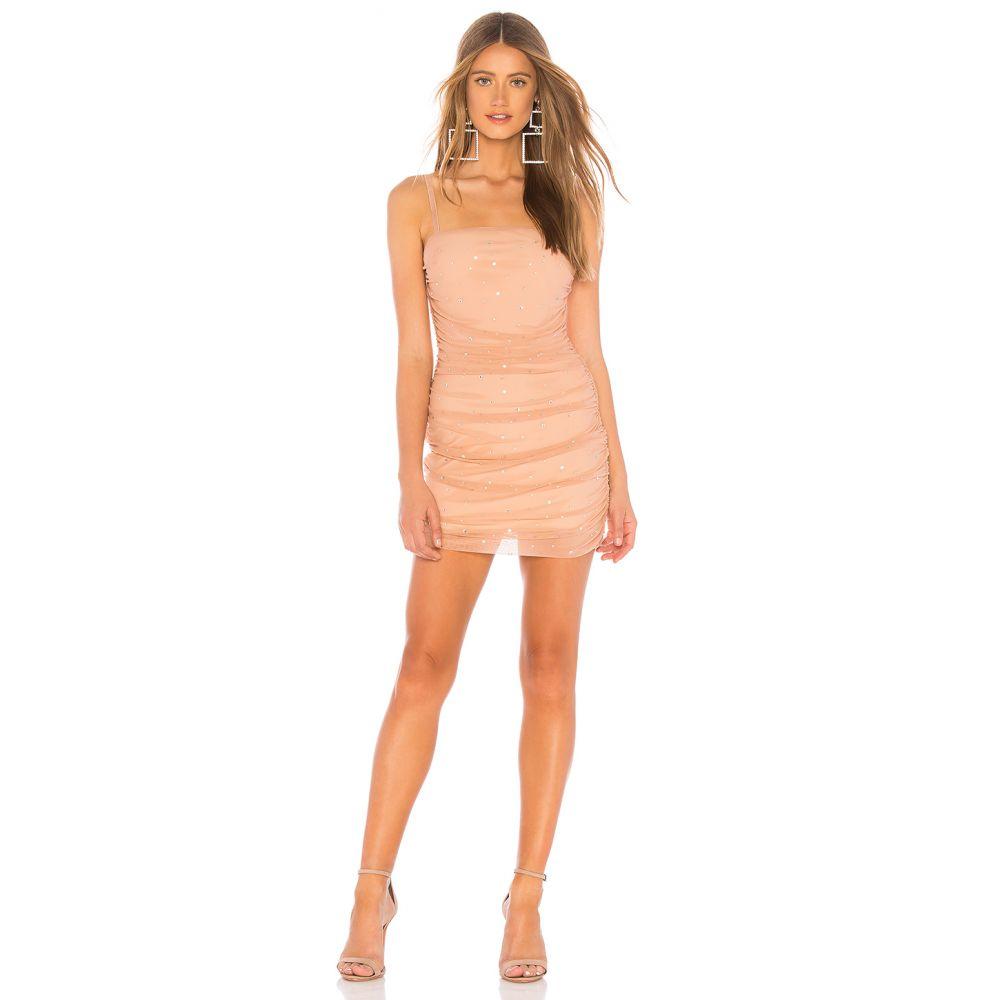 エヌビーディー NBD レディース ワンピース・ドレス ワンピース【Kerr Embellished Mini Dress】Nude