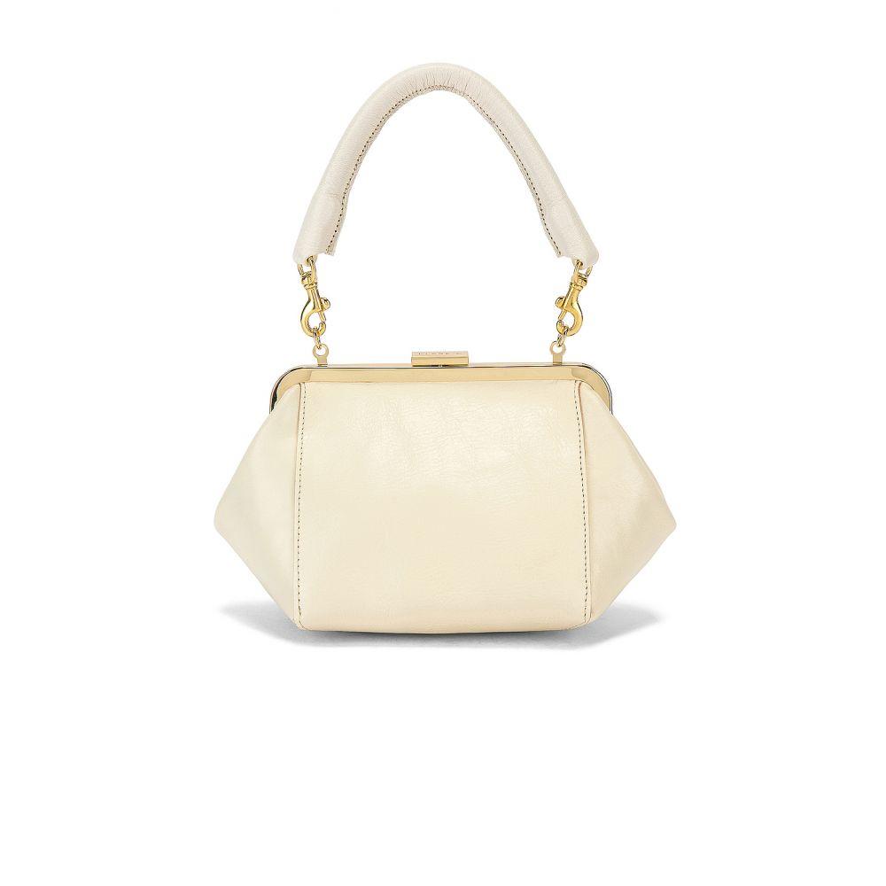クレア ヴィヴィエ Clare V. レディース バッグ【Le Box Bag】White