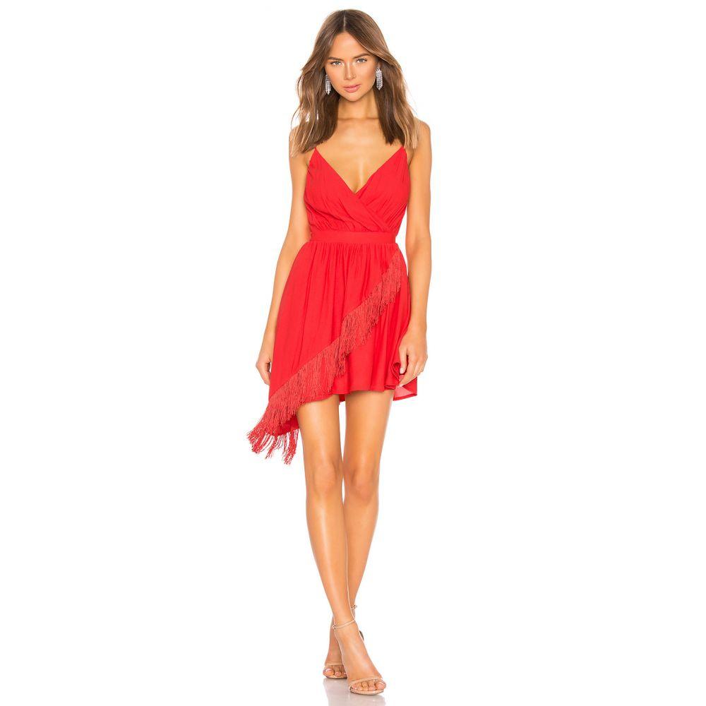エヌビーディー NBD レディース ワンピース・ドレス ワンピース【Lolo Mini Dress】Red Rose