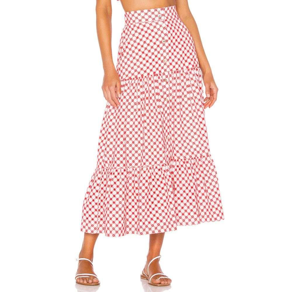 パロマ ブルー Paloma Blue レディース スカート【Liberty Skirt】Broderie Poppy