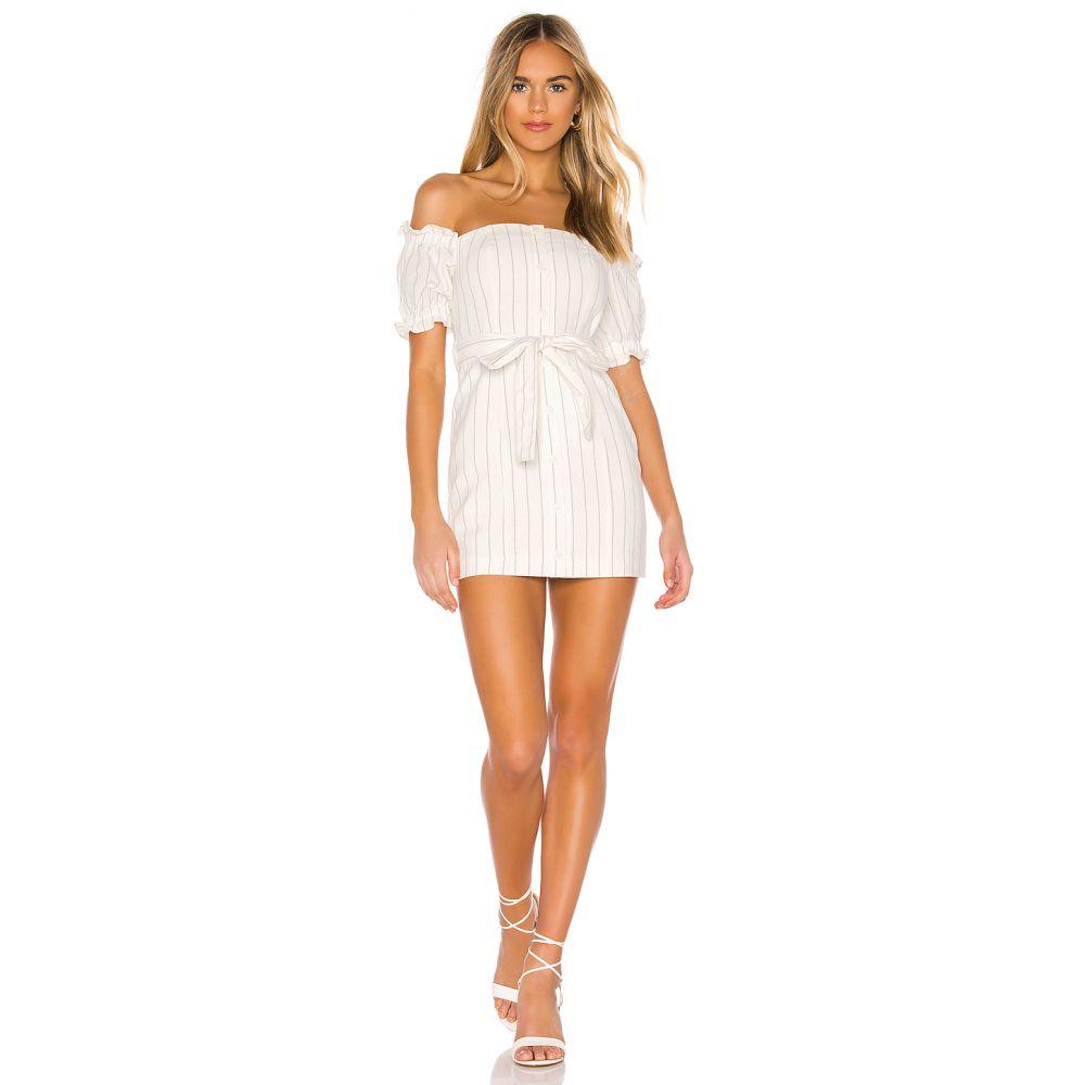 トゥラロサ Tularosa レディース ワンピース・ドレス ワンピース【Lolo Dress】White