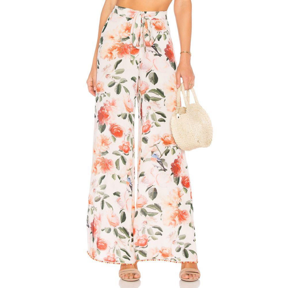 トゥラロサ Tularosa レディース ボトムス・パンツ【Lillian Pant】Peach Floral