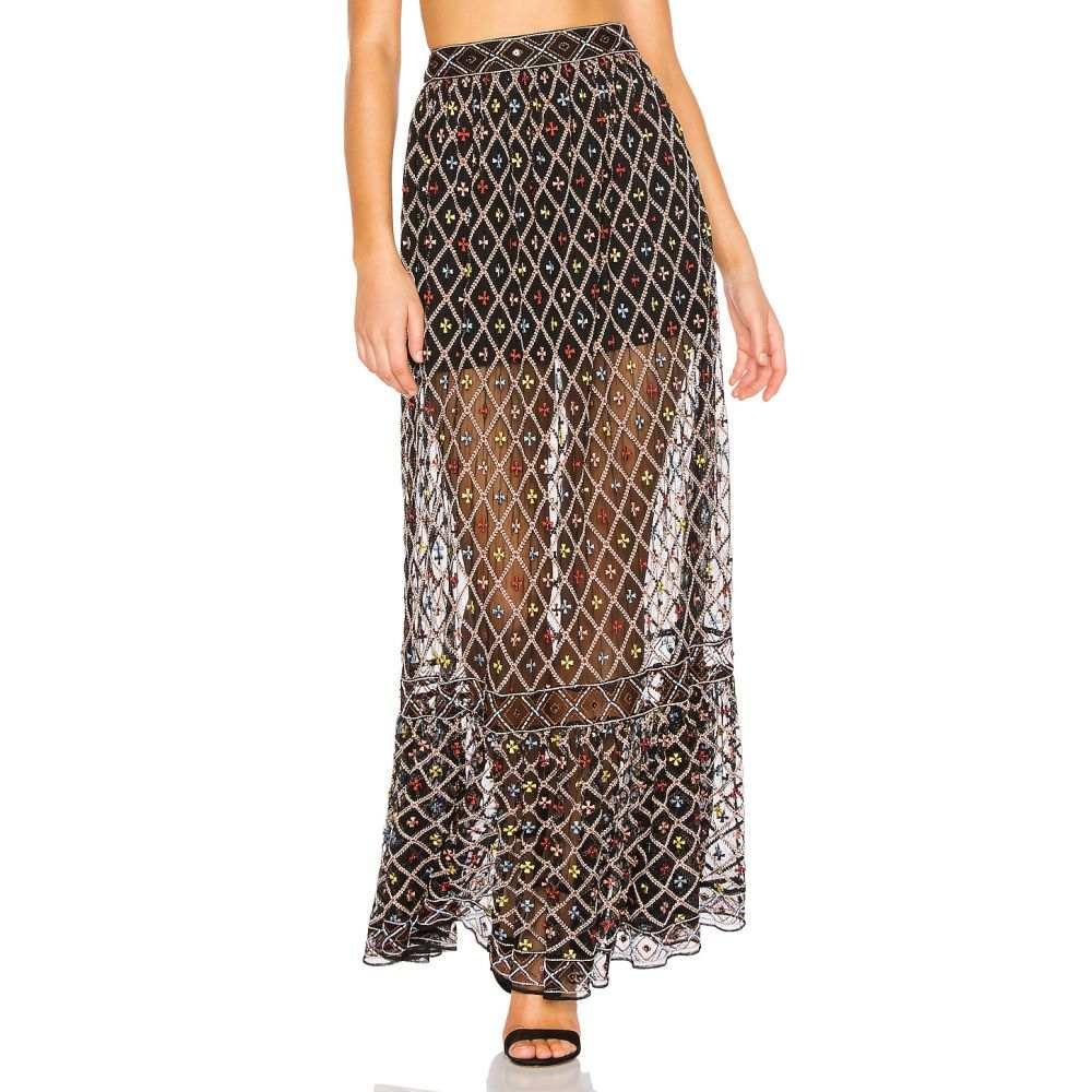 トゥラロサ Tularosa レディース スカート【Lexi Skirt】Black