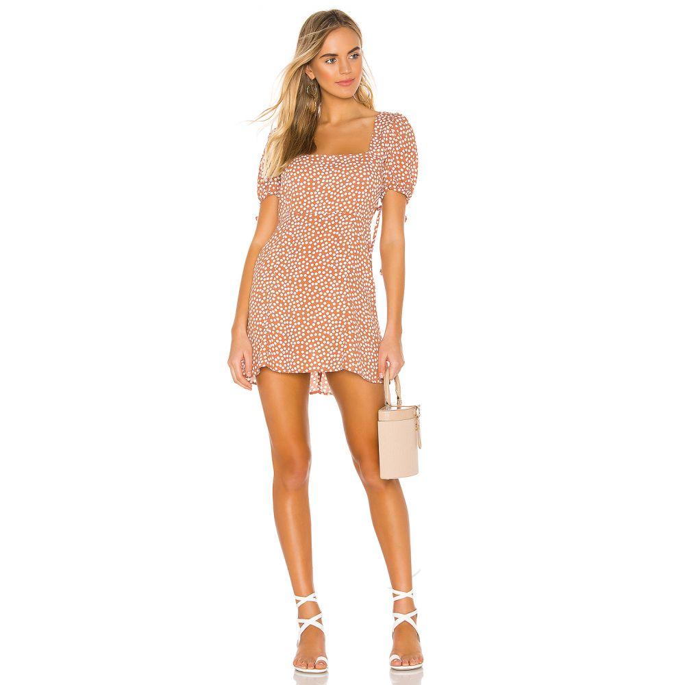 エンドレスサマー Endless Summer レディース ワンピース・ドレス ワンピース【Lulu Mini Dress】Terracotta Polka
