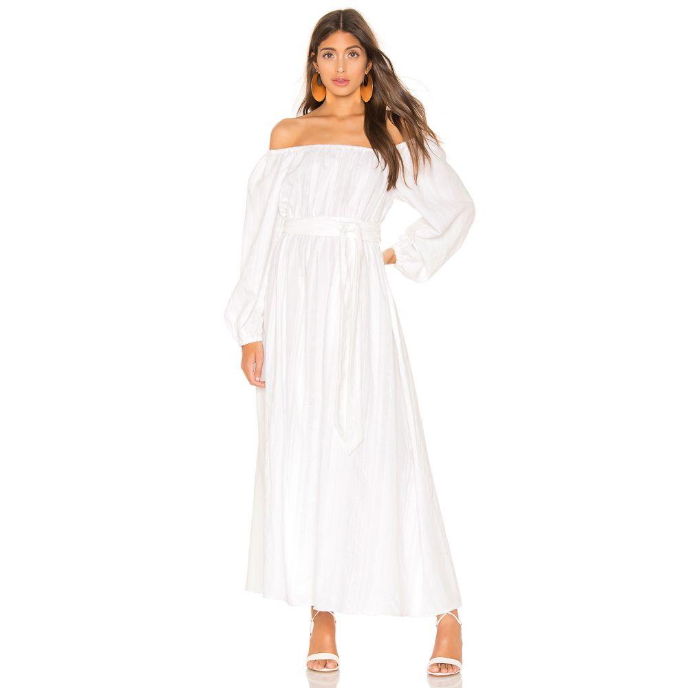 マラ ホフマン Mara Hoffman レディース ワンピース・ドレス ワンピース【Malika Dress】White