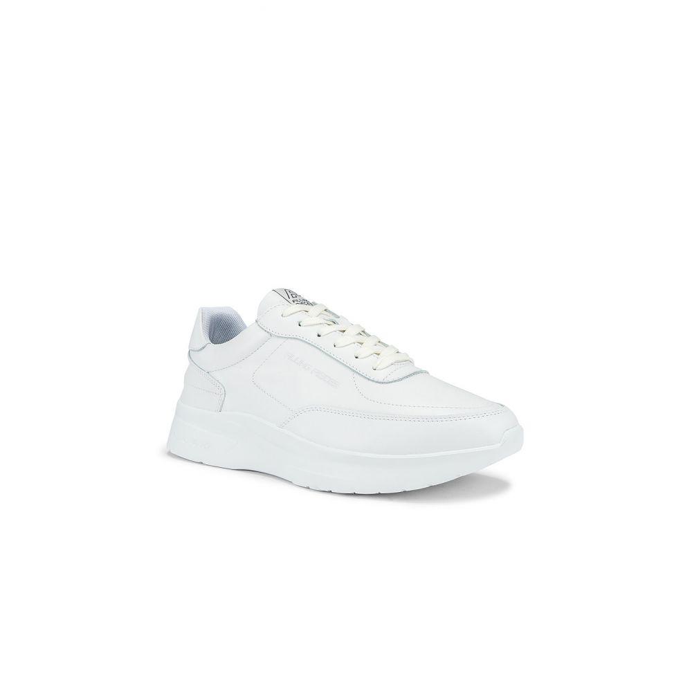 フィリング ピース Filling Pieces メンズ ランニング・ウォーキング シューズ・靴【Moda runner Jet Linear White】White