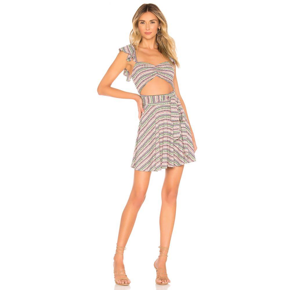 トゥラロサ Tularosa レディース ワンピース・ドレス ワンピース【Masa Dress】Sage Multi Stripe
