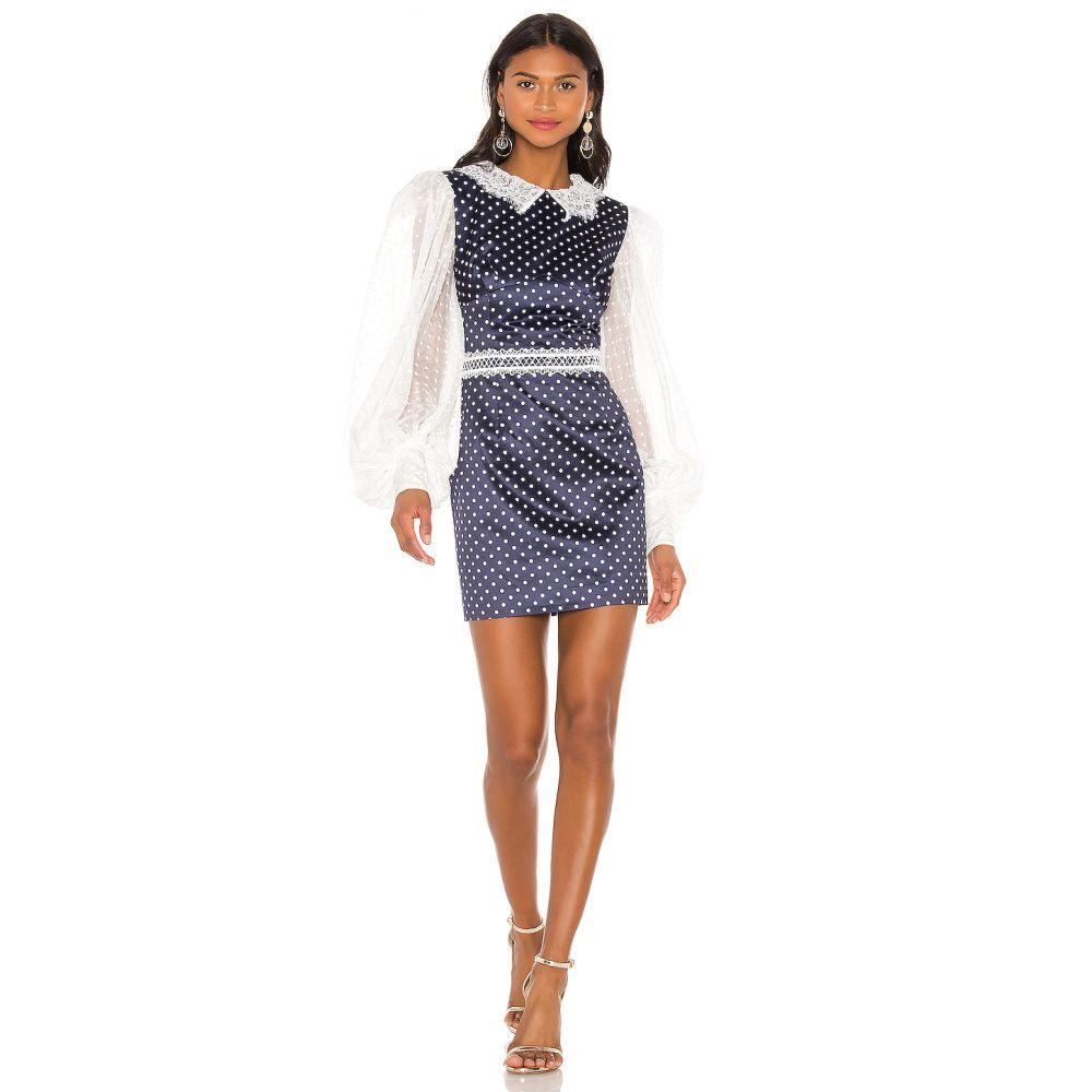 ブロンクス アンド バンコ Bronx and Banco レディース ワンピース・ドレス ワンピース【Mona Mini Dress】Navy & White