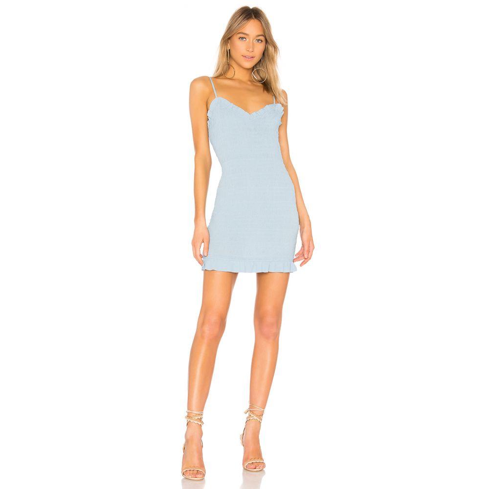 ラヴァーズフレンズ Lovers + Friends レディース ワンピース・ドレス ワンピース【Monaco Dress】Baby Blue