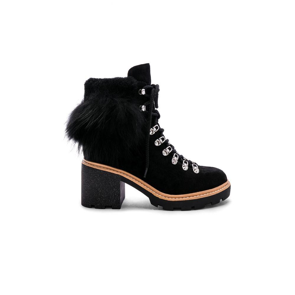 シガーソン モリソン Sigerson Morrison レディース シューズ・靴 ブーツ【Naia Fur Boot】Black