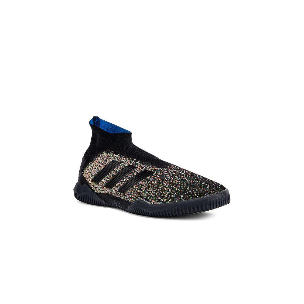 アディダス adidas Football メンズ フィットネス・トレーニング シューズ・靴【Predator 19+ Training Sneaker】Black & Yellow & Red