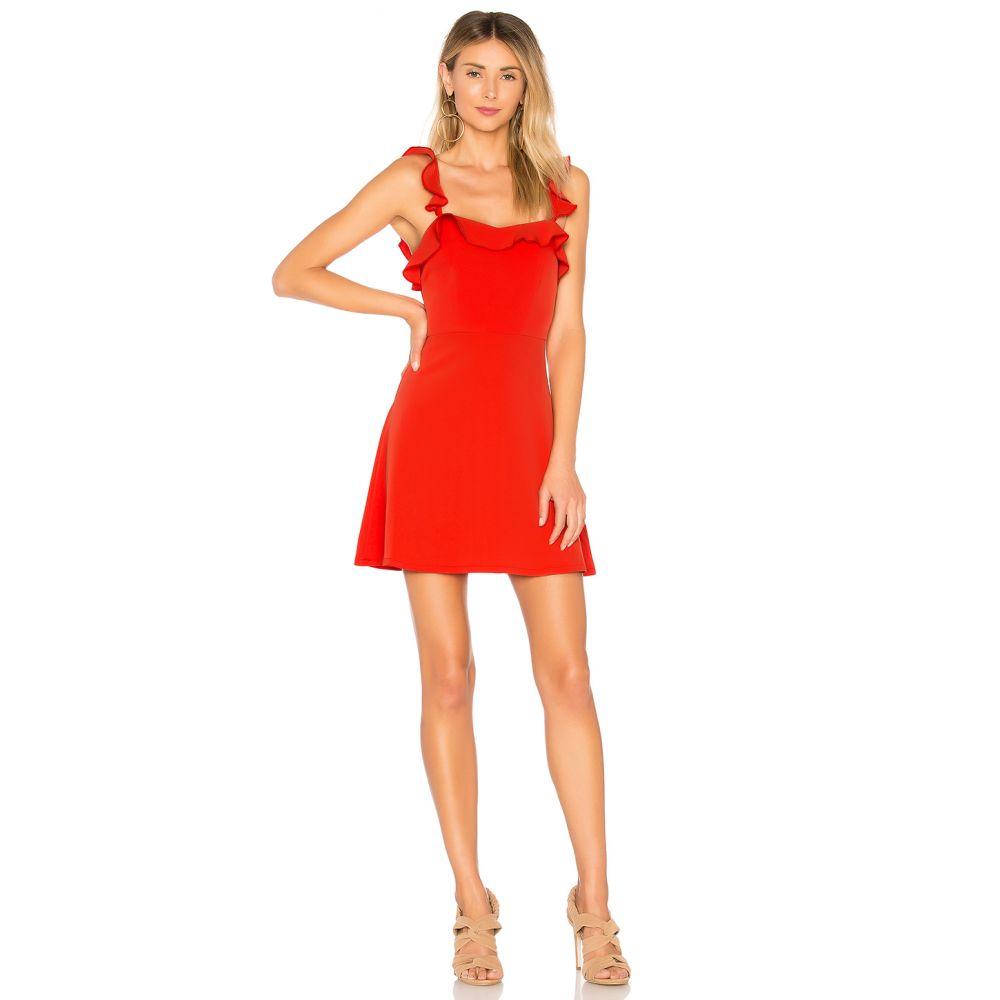 スーパーダウン superdown レディース ワンピース・ドレス ワンピース【Peyton Ruffle Cami Dress】Poppy