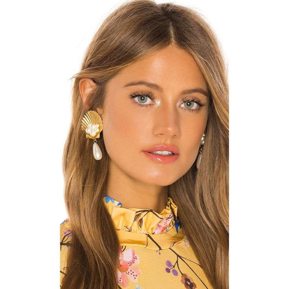 ジェニファーベア Jennifer Behr レディース ジュエリー・アクセサリー イヤリング・ピアス【Positano Clip On Earrings】Gold