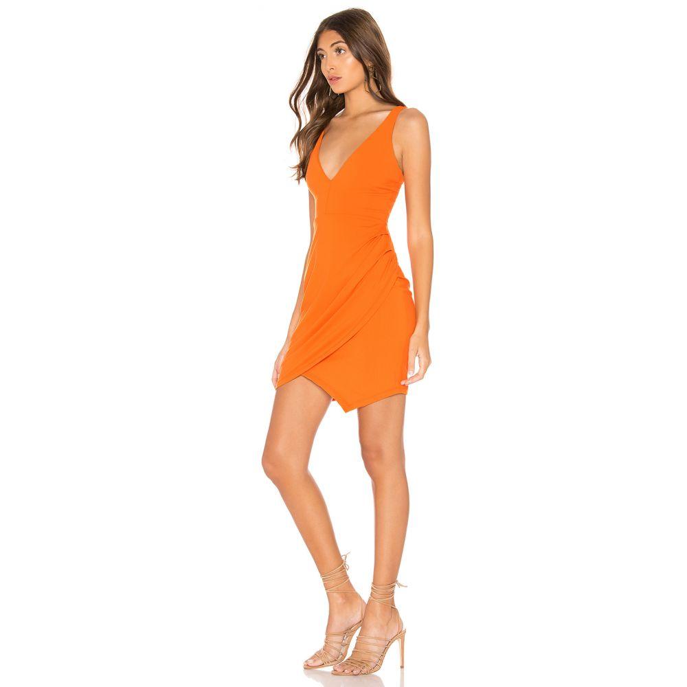 モナコ Marmalade レディース Susana Monaco スサナ 【Plunge Neckline Side Pleat Dress】 ワンピース・ドレス ワンピース