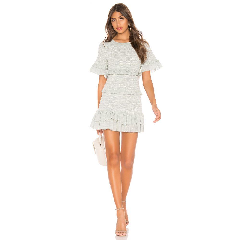 ラブシャックファンシー LoveShackFancy レディース ワンピース・ドレス ワンピース【Aveline Dress】Seaglass