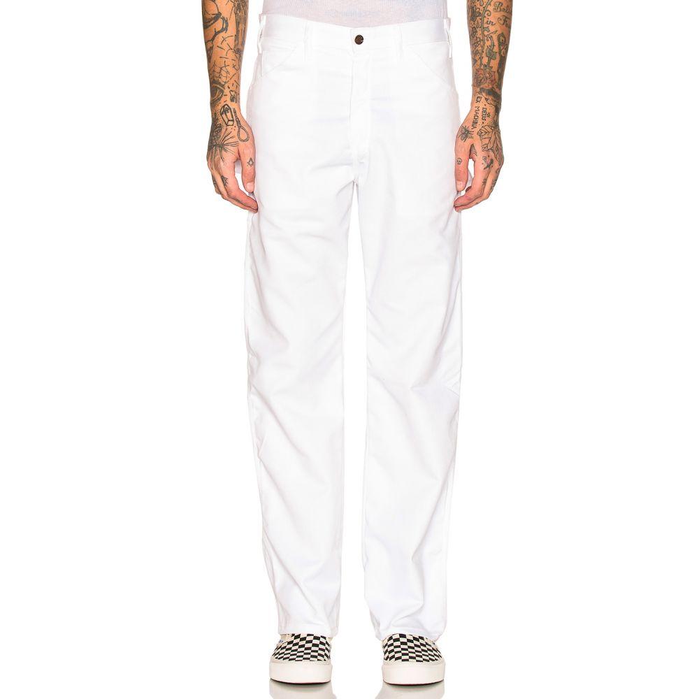 ディッキーズ Dickies メンズ ボトムス・パンツ【Relaxed Premium Painter's Utility Pant】White