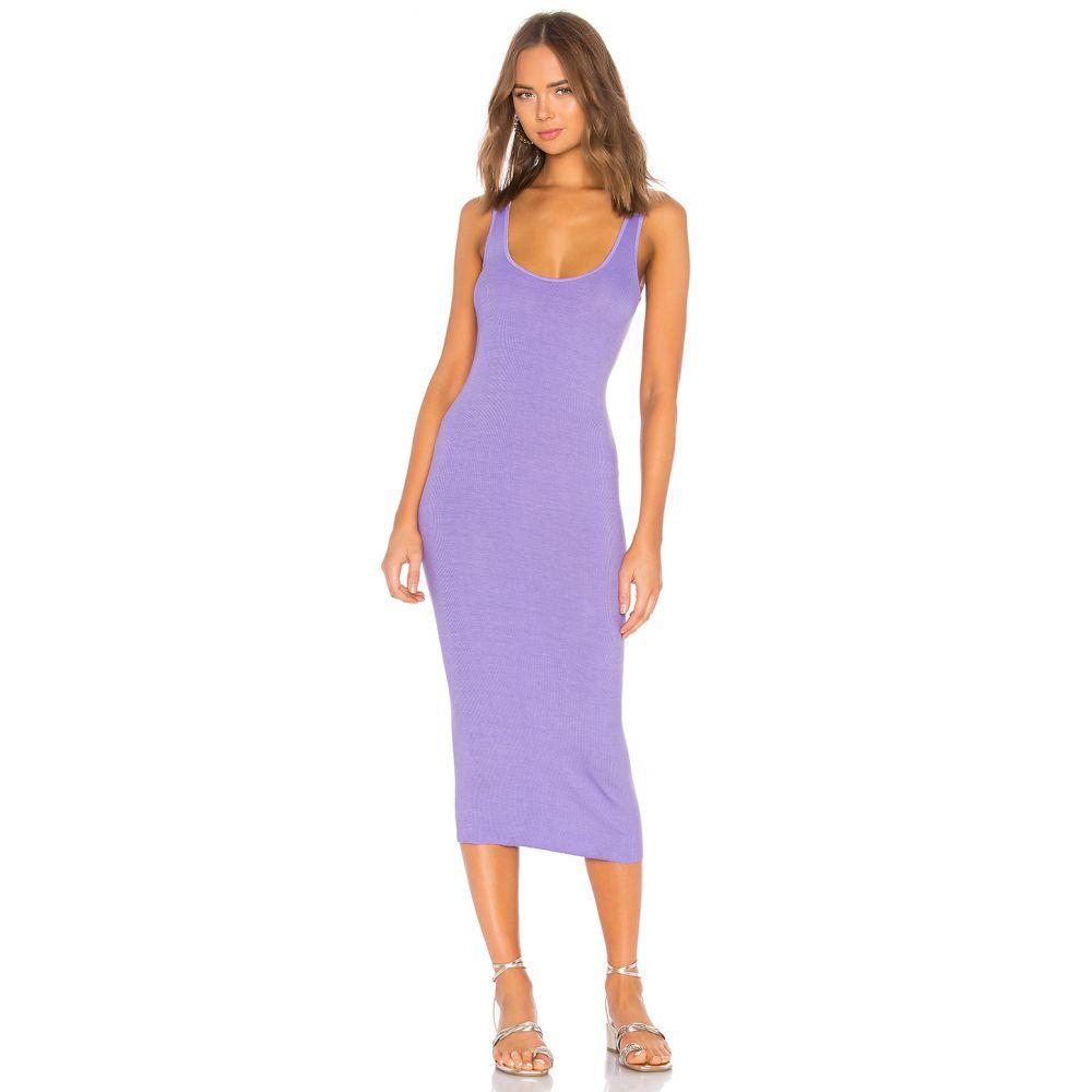 エンザコスタ Enza Costa レディース トップス タンクトップ【Rib Tank Dress】Lavender
